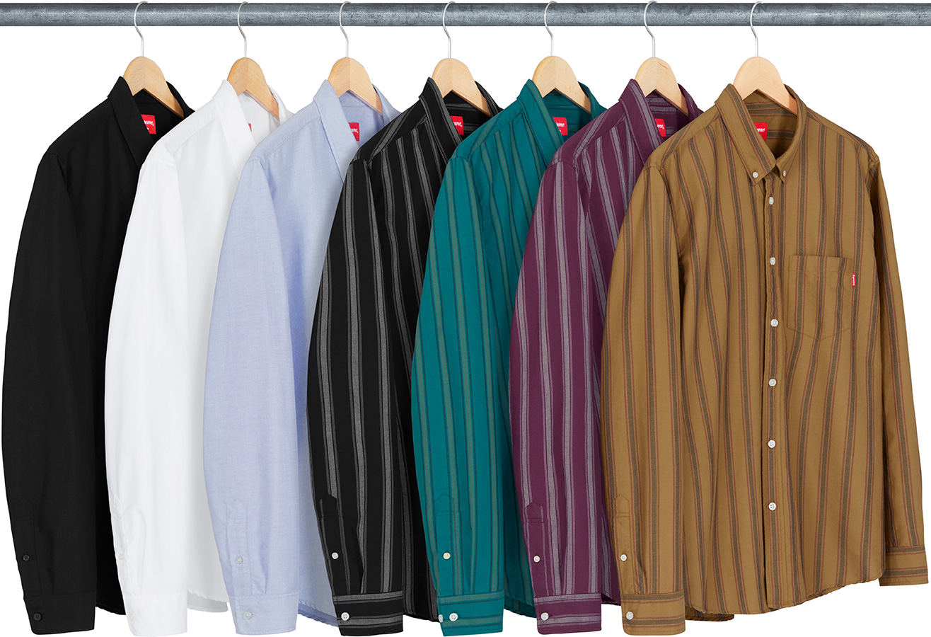 supreme-18aw-fall-winter-oxford-shirt