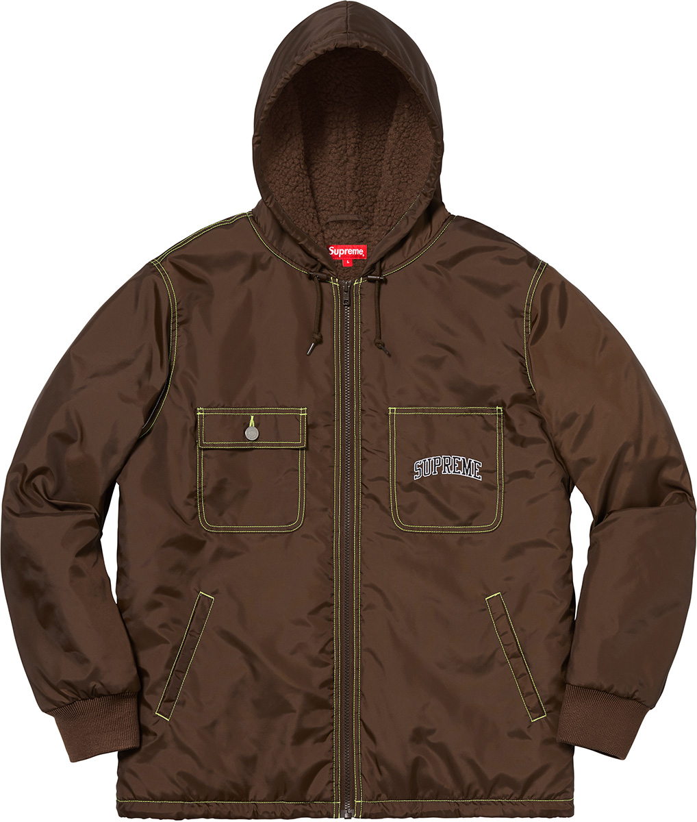 supreme-18aw-fall-winter-sherpa-lined-nylon-zip-up-jacket