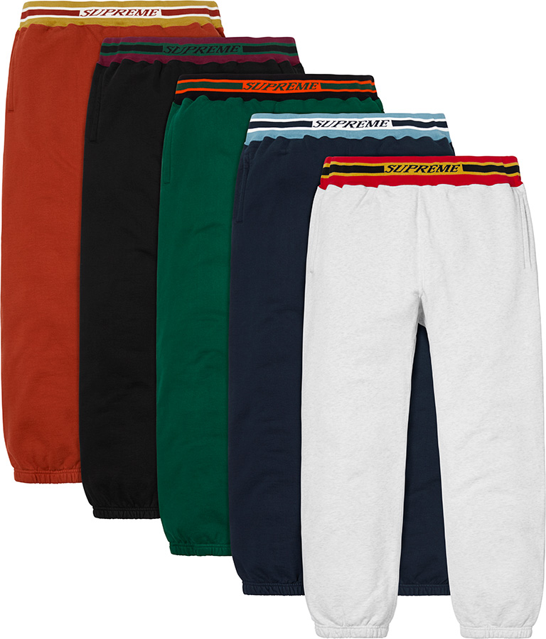 supreme-18aw-fall-winter-striped-rib-sweatpant