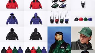 Supreme × THE NORTH FACE 2018AWが10月20日 Week9に国内発売予定