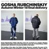 Gosha Rubchinskiy 2018AW 3rd Deliveryが9/29に国内発売予定【LEVI'S、Dr.Martensのコラボなど】