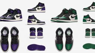 NIKE AIR JORDAN 1 RETRO HIGH OG PURPLE & GREENが9/22に国内発売予定【直リンク有り】