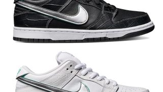 NIKE DUNK LOW PRO SB DIAMOND SUPPLY CO TIFFANY 2018が11/9、11/10に国内発売予定【直リンク有り】