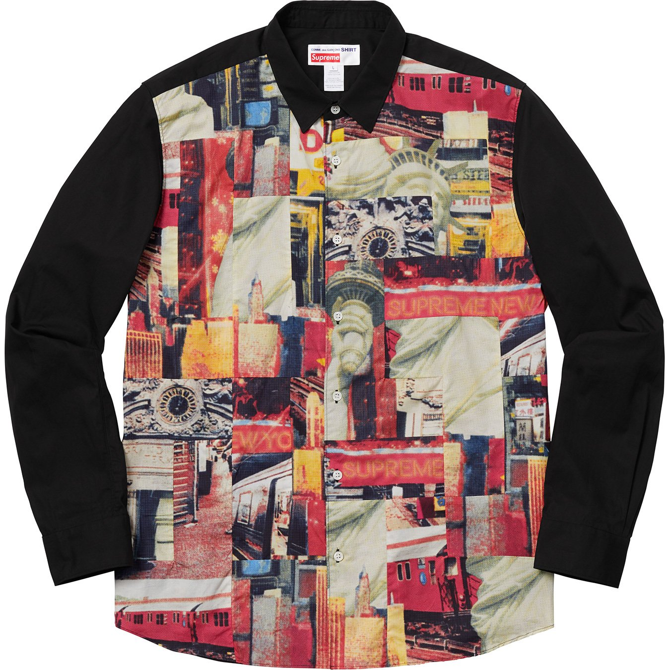 supreme-comme-des-garcons-shirt-cotton-patchwork-button-up-shirt-18aw-collaboration-release-20180915-week4