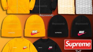 Supreme × NIKE 18AW 2nd Delivery コラボアイテムが9月29日 Week6に発売予定