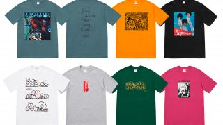 Supreme × GZAの18AWコラボアイテムが9月22日 Week5に発売予定【新作Tシャツなど】