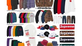 Supreme 公式通販サイトで10月13日 Week8に発売予定の新作アイテム【GORE-TEXのアイテムなど】