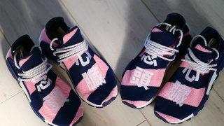 PHARRELL WILLIAMS × adidas NMD HU BBC店舗限定カラーが10/20に国内発売予定