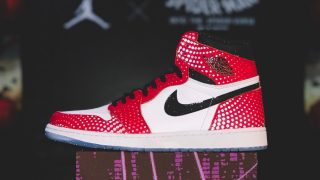 SPIDER-MAN × NIKE AIR JORDAN 1 HIGH ORIGIN STORYが12/14に国内発売予定【直リンク有り】