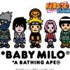 BAPE / A BATHING APE × NARUTO & BORUTO コラボコレクションが11/17に国内で発売予定