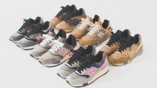 KITH × UNITED ARROWS & SONS × NB 997、KITH × nonnative × NB 997 SPORTが11/22に国内発売予定