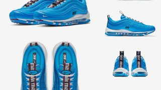 NIKE AIR MAX 97 PREMIUM BLUE HERO & BLACKが11/21に国内発売予定【直リンク有り】