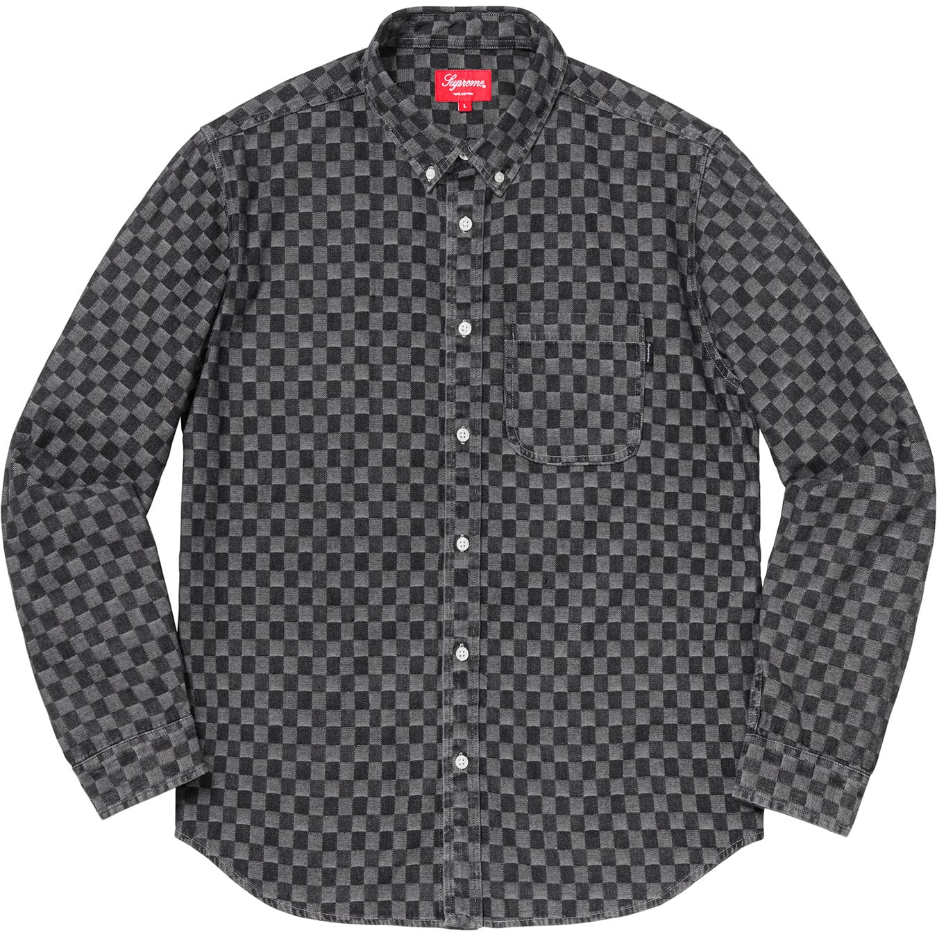 supreme-18aw-fall-winter-checkered-denim-shirt