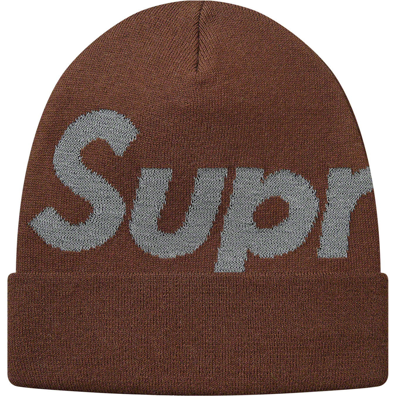 supreme-18aw-fall-winter-reflective-big-logo-beanie