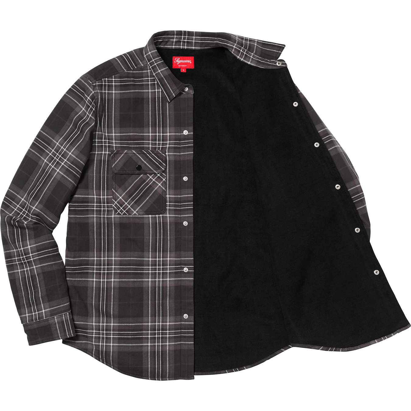 supreme-18aw-fall-winter-pile-lined-plaid-flannel-shirt