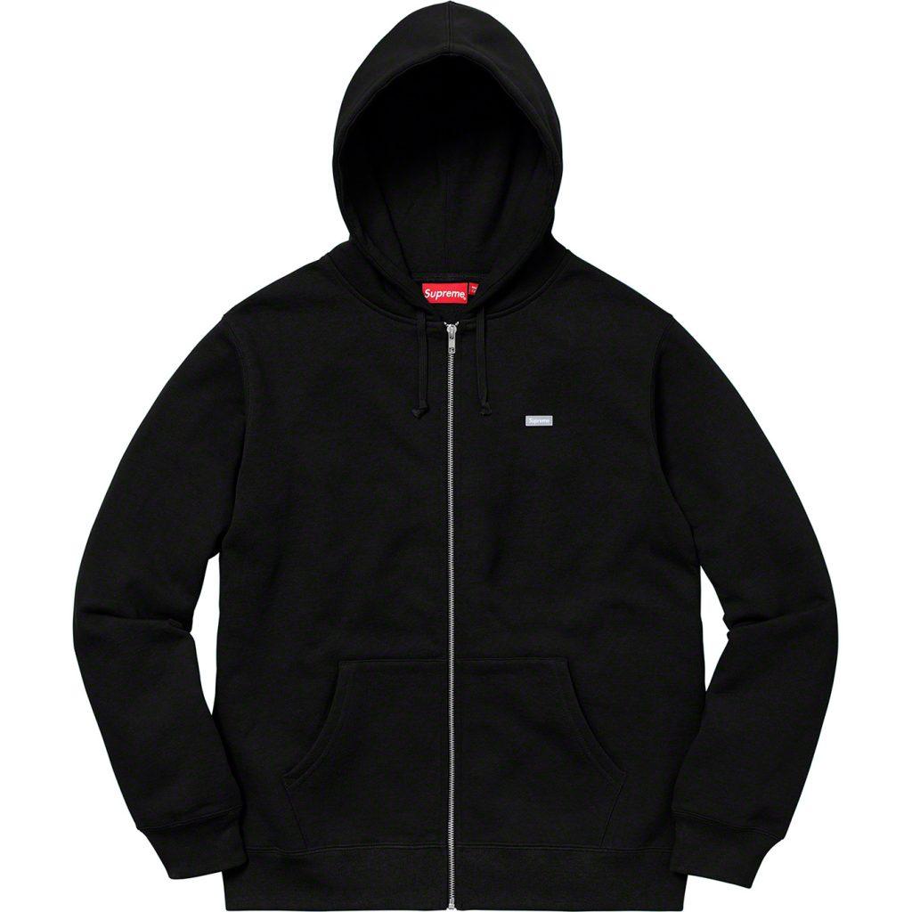 supreme-18aw-fall-winter-reflective-small-box-zip-up-sweatshirt