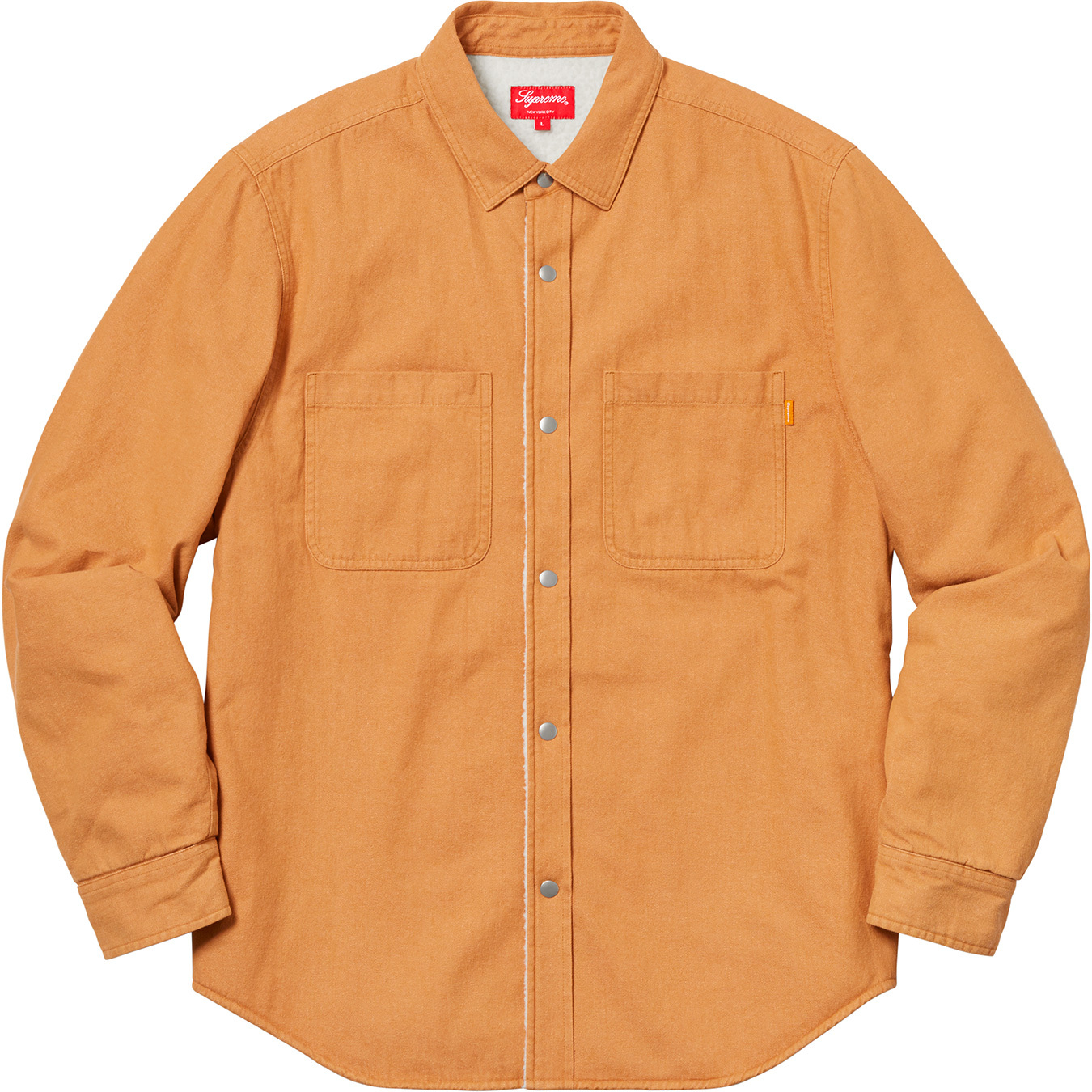 supreme-18aw-fall-winter-sherpa-lined-denim-shirt