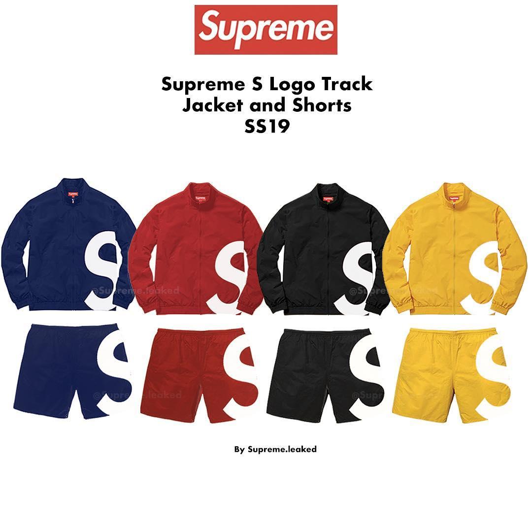 supreme-19ss-s-logo-track-jacket-short