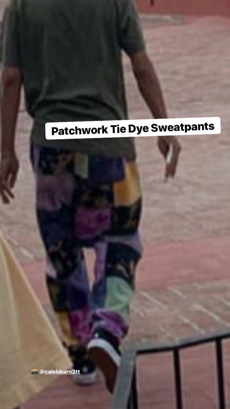 supreme-19ss-patchwork-tie-dye-sweatpant