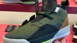 TRAVIS SCOTT × NIKE AIR JORDAN 33 NRGが1/27に海外発売予定
