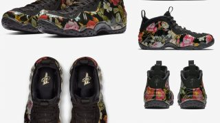 NIKE AIR FOAMPOSITE ONE FLORALが2/23に国内発売予定