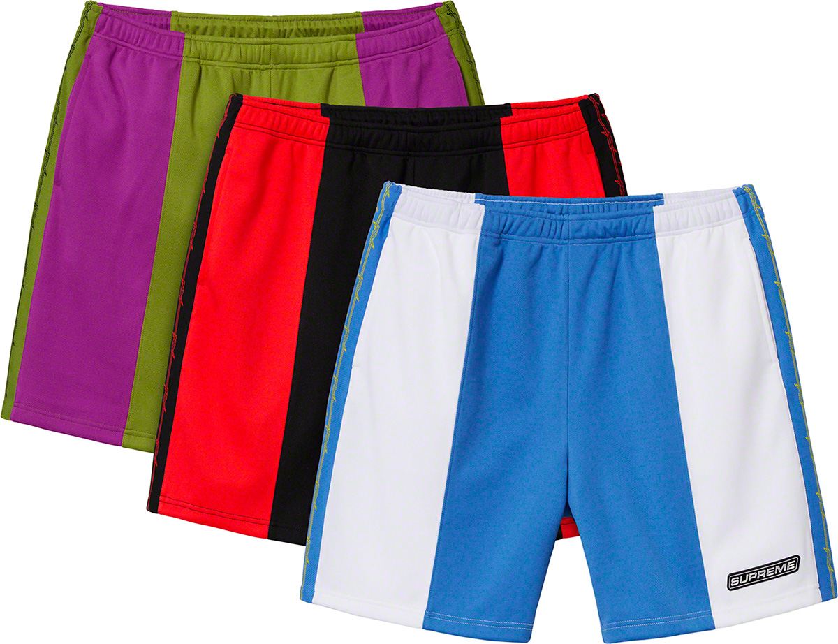 supreme-19ss-spring-summer-barbed-wire-athletic-short