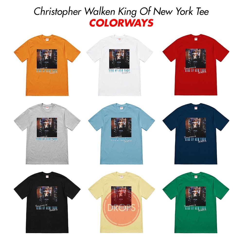 supreme-19ss-spring-summer-christopher-walken-king-of-new-york-tee