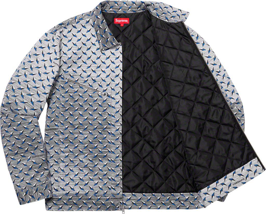 supreme-19ss-spring-summer-diamond-plate-work-jacket