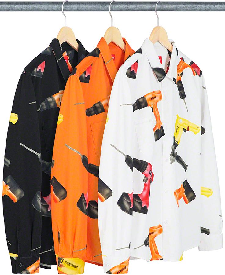 supreme-19ss-spring-summer-drills-work-shirt
