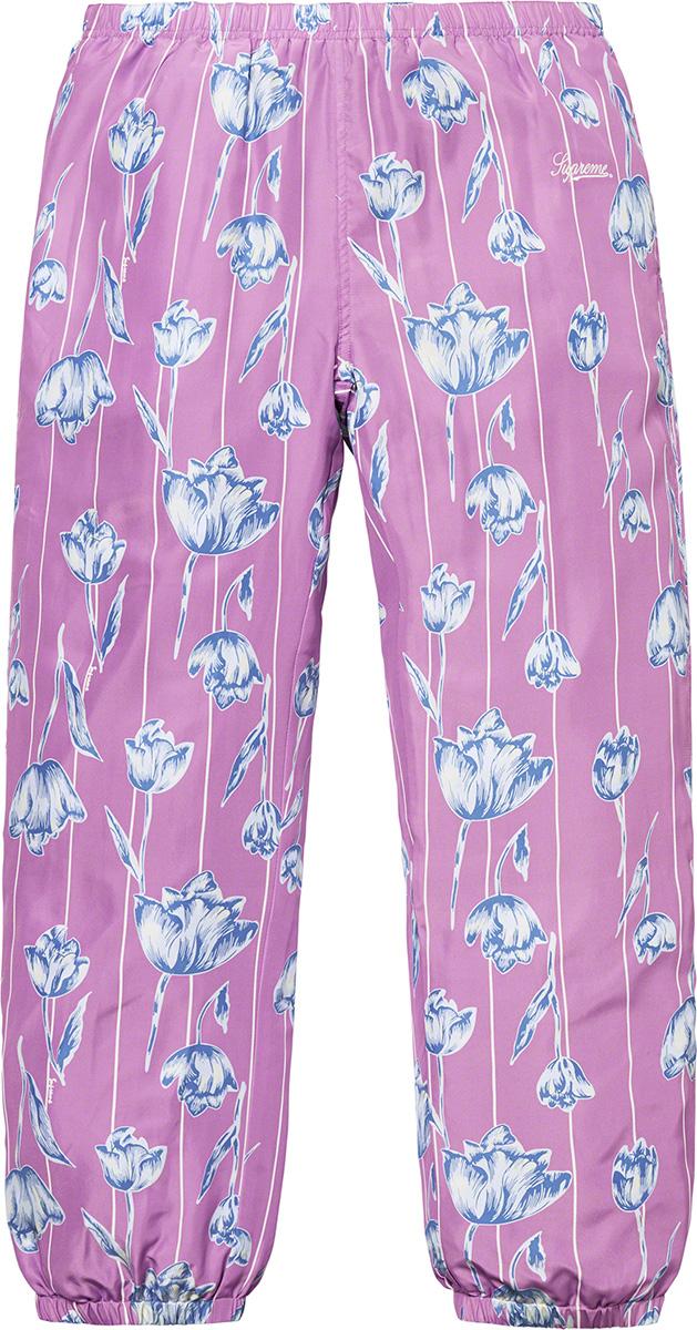supreme-19ss-spring-summer-floral-silk-track-pant