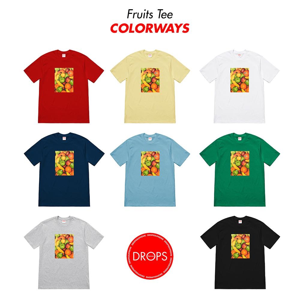 supreme-19ss-spring-summer-fruit-tee