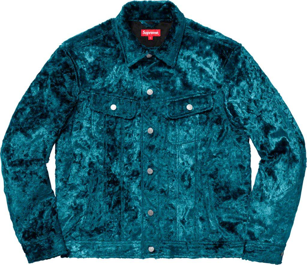 supreme-19ss-spring-summer-fuzzy-pile-trucker-jacket