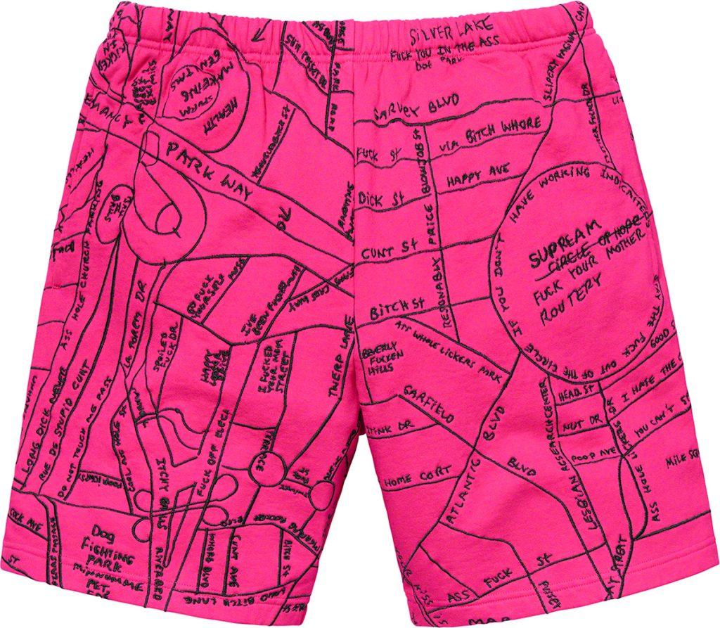 supreme-19ss-spring-summer-gonz-embroidered-map-sweatshort
