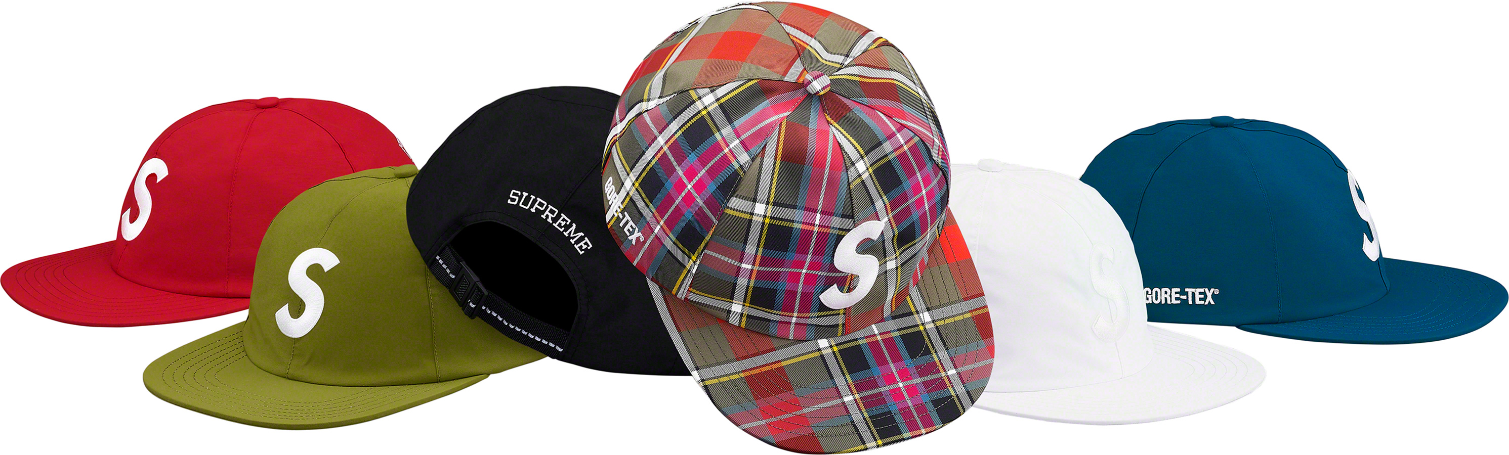 supreme-19ss-spring-summer-gore-tex-s-logo-6-panel