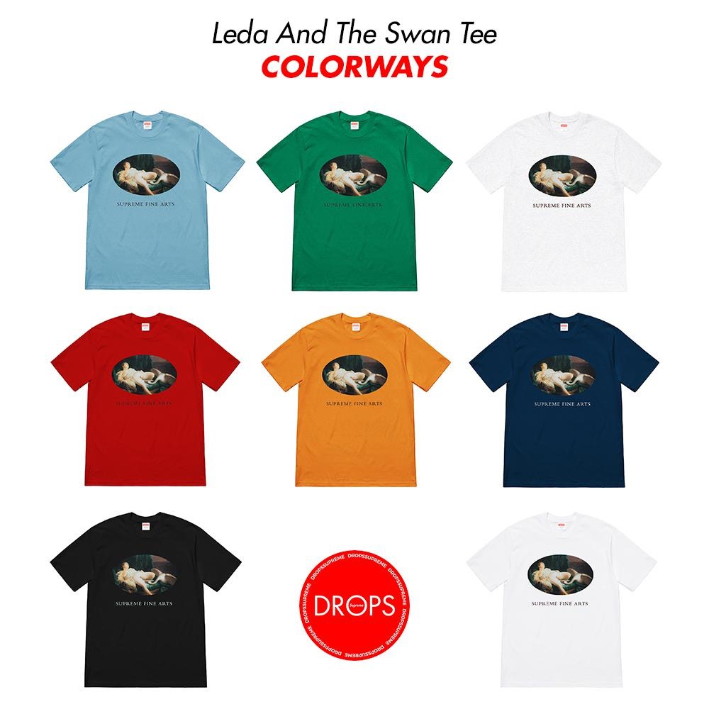supreme-19ss-spring-summer-leda-and-the-swan-tee