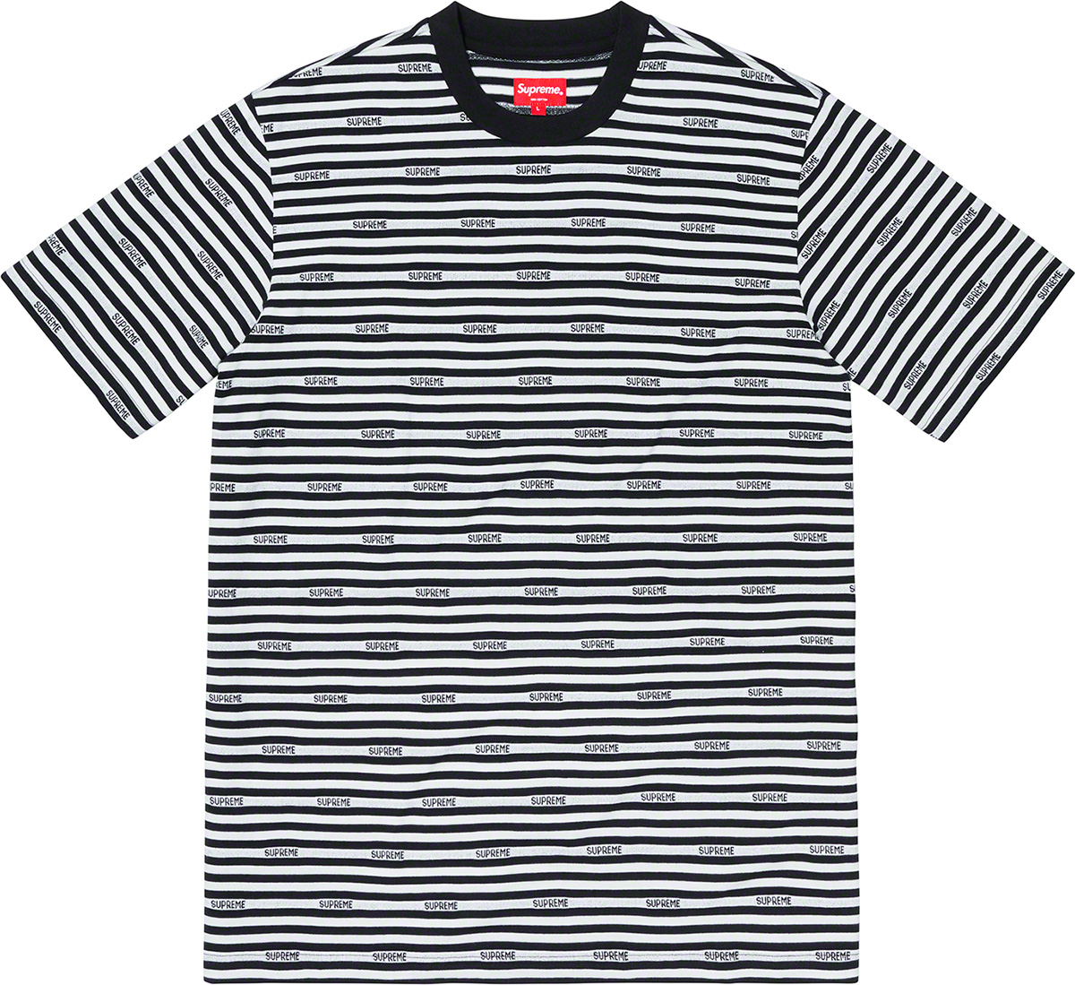 supreme-19ss-spring-summer-logo-stripe-s-s-top