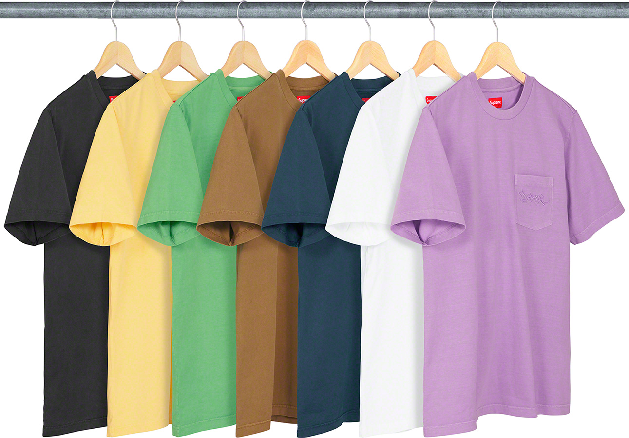 supreme-19ss-spring-summer-overdyed-pocket-tee