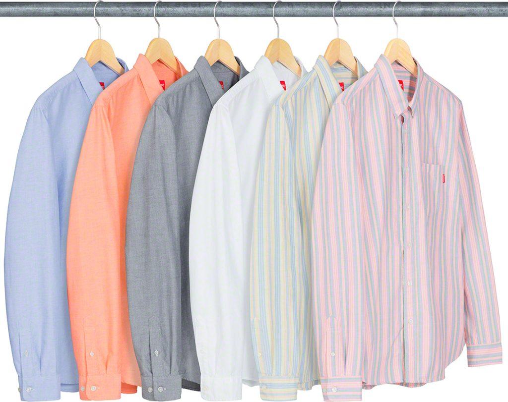 supreme-19ss-spring-summer-oxford-shirt