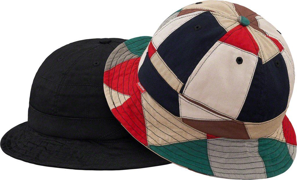 supreme-19ss-spring-summer-patchwork-bell-hat