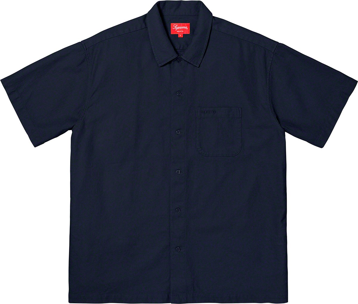 supreme-19ss-spring-summer-pinhole-s-s-shirt