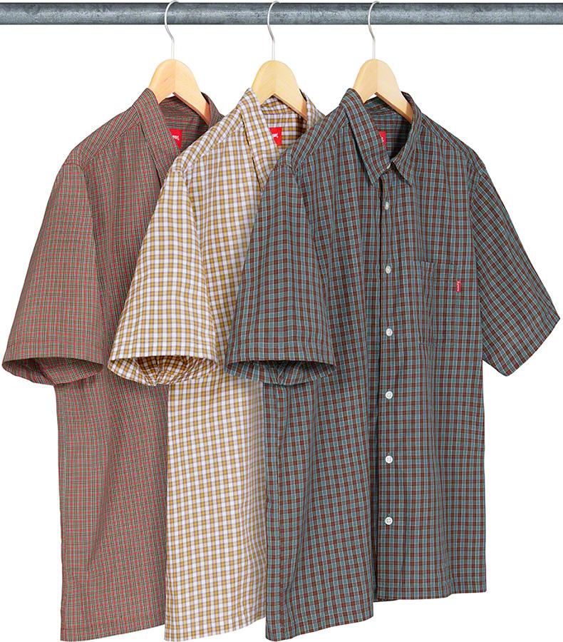 supreme-19ss-spring-summer-plaid-s-s-shirt