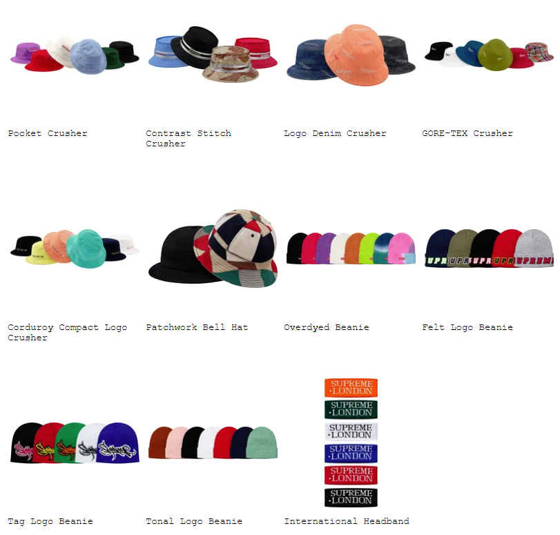 supreme-19ss-spring-summer-preview-cap