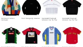 Supreme 19SS コレクションのトップス&セーター一覧ページ