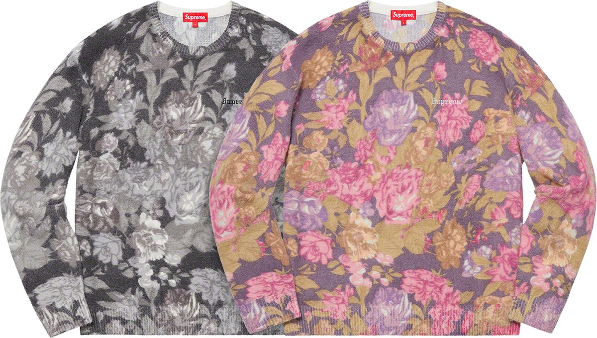 supreme-19ss-spring-summer-printed-floral-angora-sweater