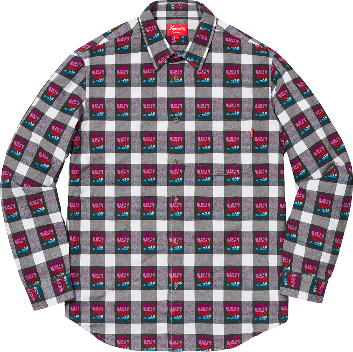 supreme-19ss-spring-summer-rose-buffalo-plaid-shirt