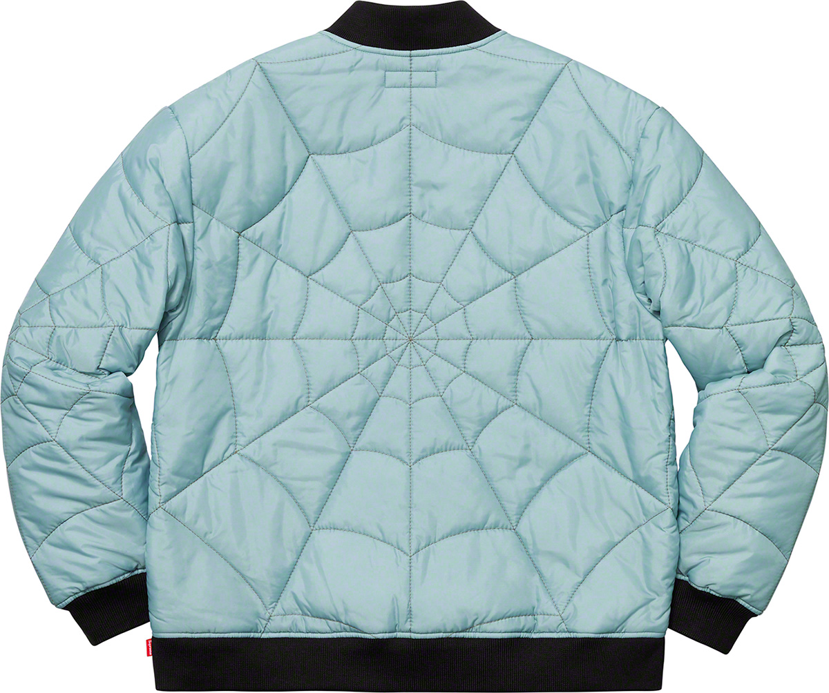 supreme-19ss-spring-summer-spider-web-quilted-work-jacket