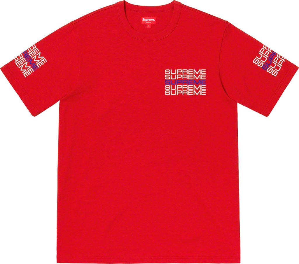 supreme-19ss-spring-summer-stack-logo-tee