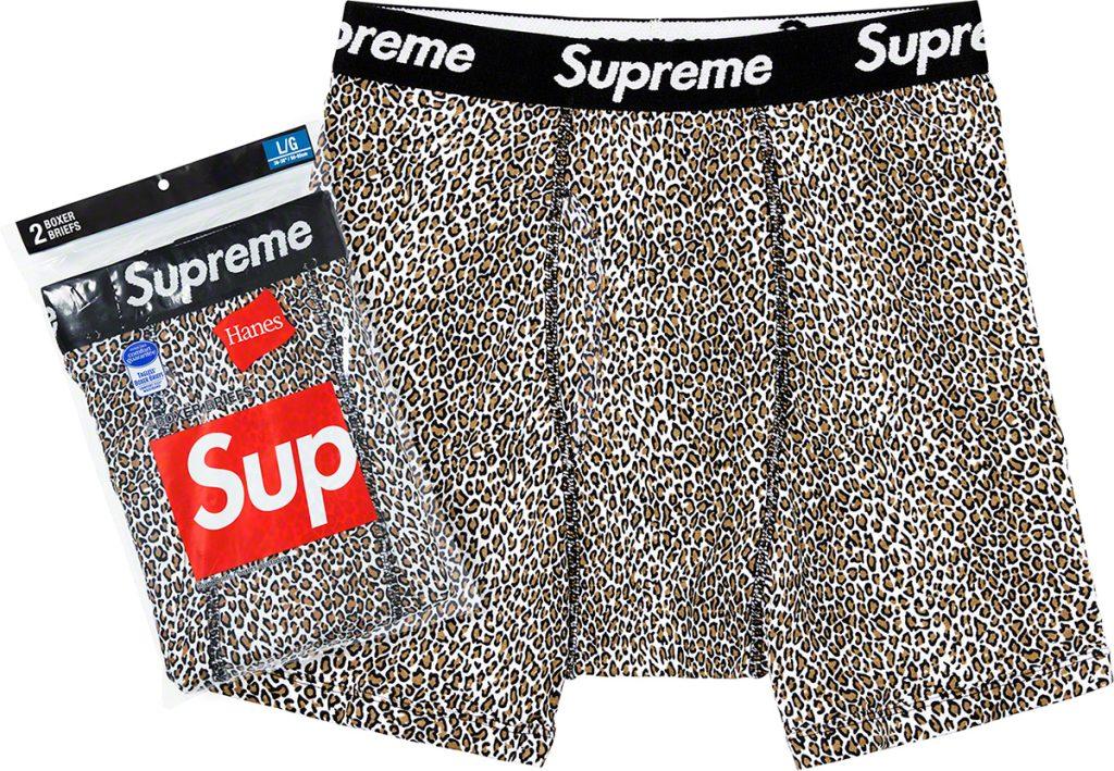 supreme-19ss-spring-summer-supreme-hanes-leopard-boxer-briefs-2-pack