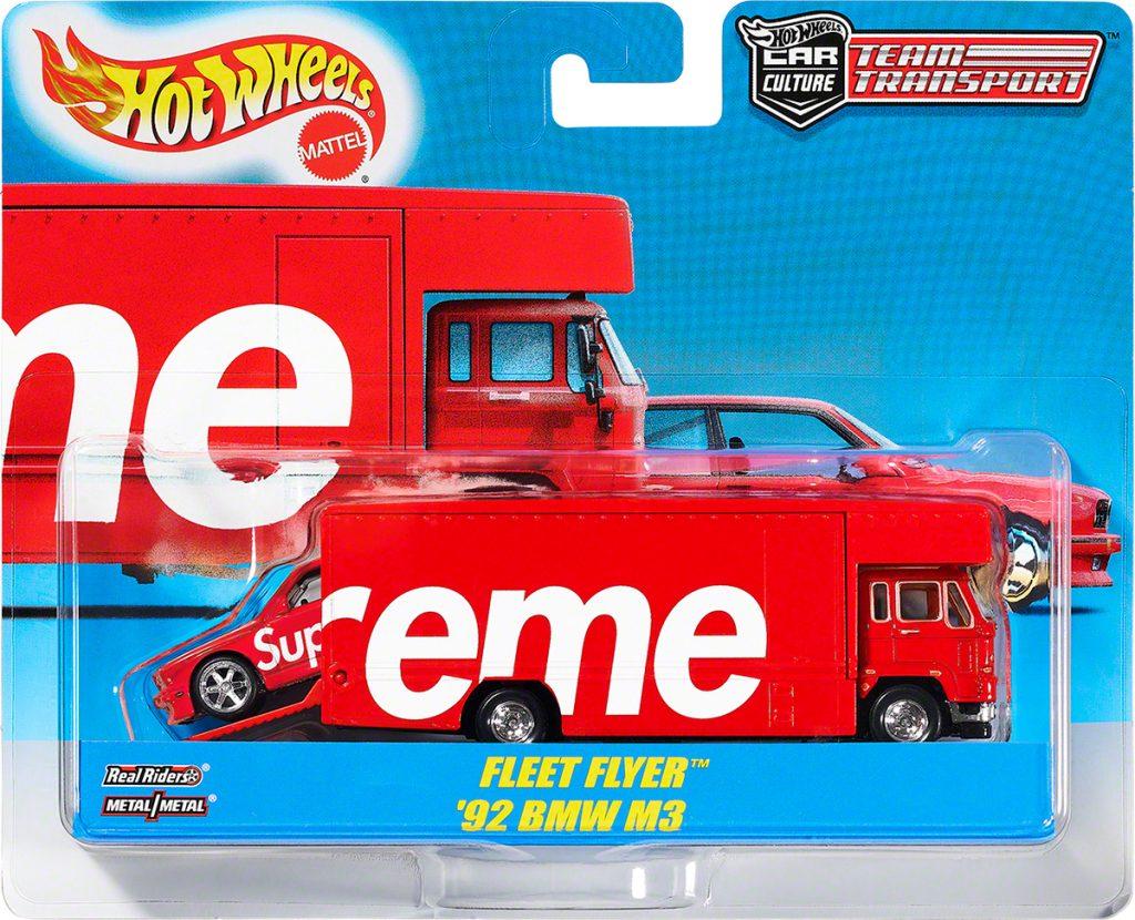 supreme-19ss-spring-summer-supreme-hot-wheels-fleet-flyer-1992-bmw-m3