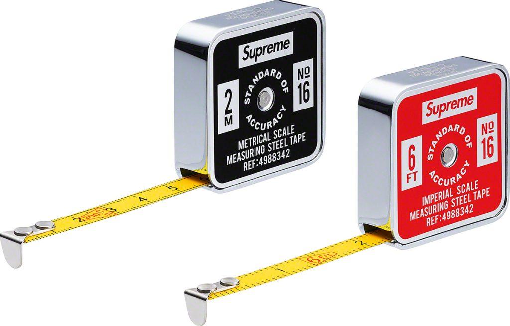 supreme-19ss-spring-summer-supreme-penco-tape-measure